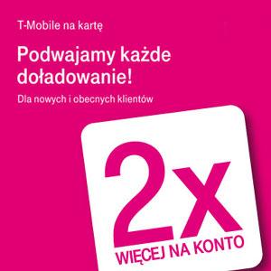 T Mobile Na Karte.Szczegóły Oferty Zawsze 2x Więcej Na Konto W T Mobile Na Kartę