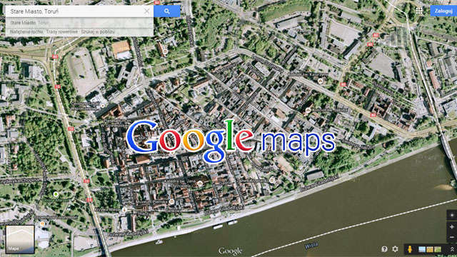 mapa satelitarna z podglądem na żywo Google Maps LIVE z trybem na żywo byłoby hitem