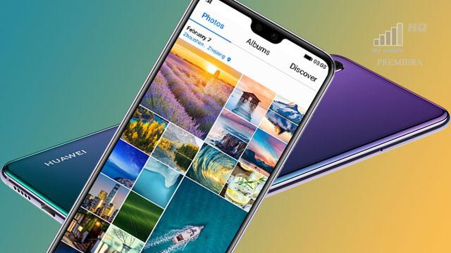 Premiera Huawei Zaskoczył Ogromną Ilością Tapet